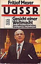UdSSR, Gesicht einer Weltmacht : vom…