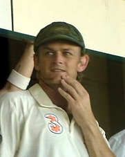 Author photo. Crop of a photo taken by Wikipedia user <a href=&quot;http://meta.wikimedia.org/wiki/User:Daniel&quot;>Daniel</a> on Day 5 of the Adelaide Test match in the 2006-07 Ashes series.