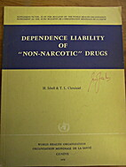 Dependence liability of non-narcotic drugs…