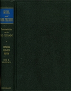 Keil and Delitzsch Commentaries on the Old…