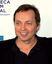 Author photo. Bobby Farrelly at the 2009 Tribeca Film Festival premiere of The Farrelly Brothers' Lost Son of Havana.
