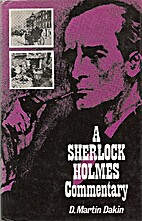 A Sherlock Holmes Commentary by D. Martin…