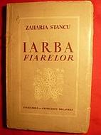 Iarba fiarelor by Zaharia Stancu