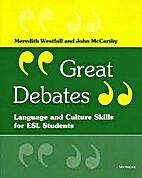 GREAT DEBATES Language and culture skills…