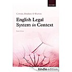 English Legal System in Context 6e by Mandy…