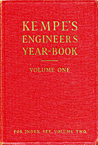 Kempe's Engineers Year-book by C.E. Prockter