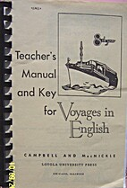 Voyages in English Grade 8 Teacher's Manual…