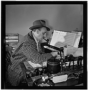 Author photo. Photo by William Gottlieb, Gottlieb Jazz Photos, Library of Congress at <a href=&quot;http://www.flickr.com/photos/library_of_congress/4977076838/in/set-72157624588645784/&quot; rel=&quot;nofollow&quot; target=&quot;_top&quot;>Flickr.com</a>
