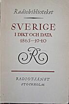 Sverige i dikt och data 1865-1940