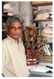 Author photo. Prof. Gananath Obeyesekere. Photo byDenise Applewhite, 2000 (photo courtesy of Princeton University)