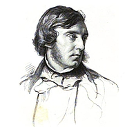 Author photo. Frontispiece from THE SUNNYSIDE BOOK (1871)