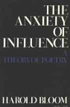 harold bloom the anxiety of influence pdf