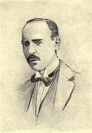Author photo. Image from <b><i>Contemporary portraits (third series)</i></b> (1920) by Frank Harris
