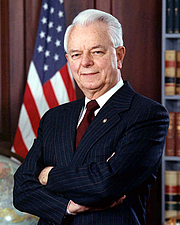 Author photo. U.S. Senator Robert Carlyle Byrd of West Virginia (official portrait)