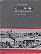 English Literature and Its Backgrounds,…