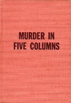 Murder in Five Columns by Frank Diamond