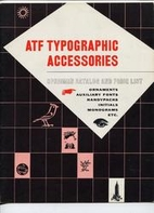 ATF Typographic Accessories Catalogue June…