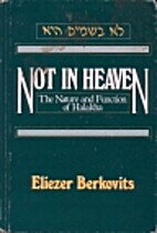 Not in Heaven: The Nature and Function of…