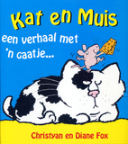 Kat en muis : een verhaal met 'n gaatje by…
