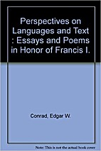 Perspectives on language and text : essays…