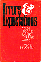 Errors and Expectations: A Guide for the…