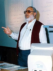 Author photo. From Wikipedia: The picture was probably taken in 2006 in the en:Technion – Israel Institute of Technology.