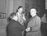 Author photo. George Lascelles, 7th Earl of Harewood (center).  Image © <a href=&quot;http://www.bildarchiv.at/&quot;> ÖNB/Wien </a>