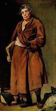 Author photo. Æsopus by Diego Velásquez, 1739-40.