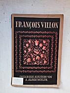Francois Villon: Oper in drei Aufzügen by…