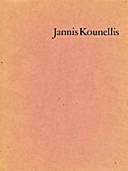 Jannis Kounellis by R.H. Fuchs