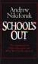 School's Out: the Catastrophe in Public…