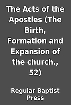 The Acts of the Apostles (The Birth,…