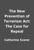 The New Prevention of Terrorism Act: The…