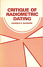 Critique of Radiometric Dating (ICR…
