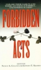 Forbidden Acts by Nancy A. Collins