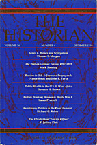 The Historian 1994 56.4 by Phi Alpha Theta