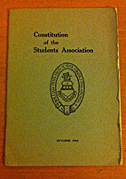 Constitution of the Students Association…