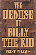 The Demise of Billy the Kid (Thorndike…