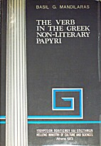 The verb in the Greek non-literary papyri by…