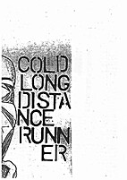 Cold long distance runner by D. Beard