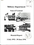 Military Department State of Vermont…