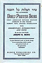 Authorized Daily Prayer Book by Joseph H.…