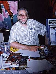 Author photo. <a href=&quot;http://en.wikipedia.org/wiki/Chuck_Dixon&quot; rel=&quot;nofollow&quot; target=&quot;_top&quot;>http://en.wikipedia.org/wiki/Chuck_Dixon</a>
