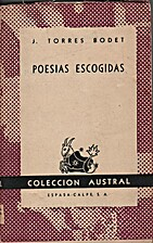 Poesias escogidas by Jaime Torres Bodet