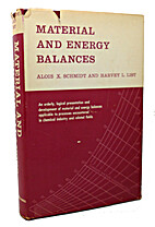 Material and energy balances by…