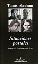 Situaciones postales by Tomás Abraham