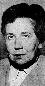 Author photo. Ursula Torday about 1965.