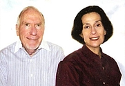 Author photo. Gerald S. Strober (left), Deborah Hart Strober (right)