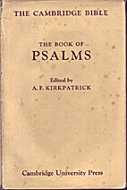 The Book of Psalms by Alexander Francis…
