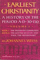 Earliest Christianity: A History of the…